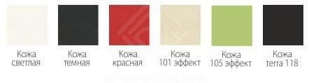Фото - Скамья угловая ДКУ-3/2  Кожа светлая (№3)