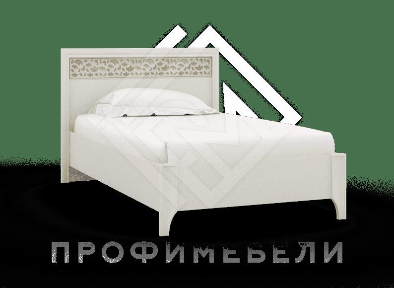 Фото - TWIST, Кровать  Кр-01 (900) мдф твист золото (№1)