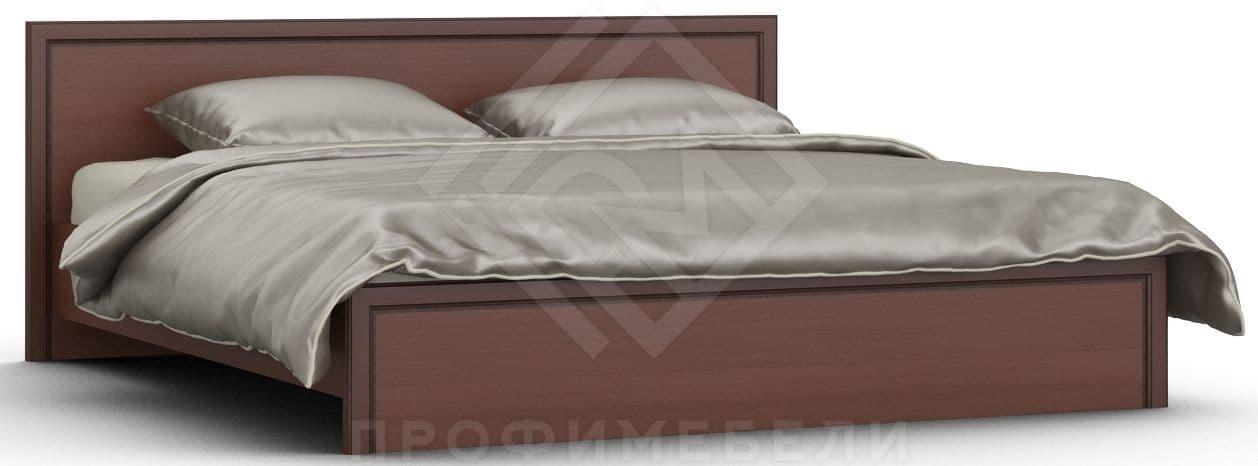 Фото - Кровать VOLGA Кр-03 (1800) + основание итальянский орех (№1)