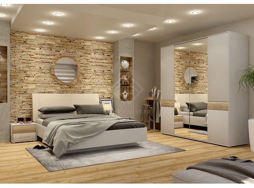 Фото - PORTLAND, Спальня PORTLAND-1 серый камень (№1)