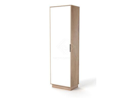 Фото - Визит-3 В3-Ш Шкаф для платья лдсп белый/дуб ирландский (№1)